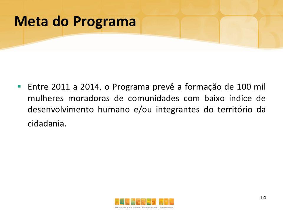 Meta do Programa