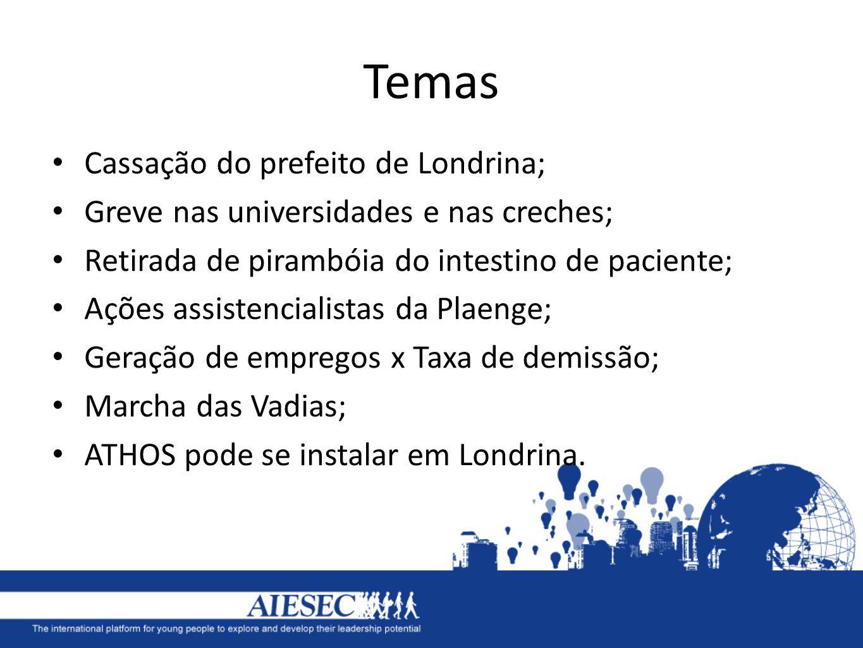 Temas Cassação do prefeito de Londrina;