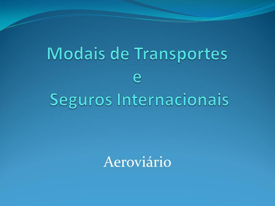 Modais de Transportes e Seguros Internacionais