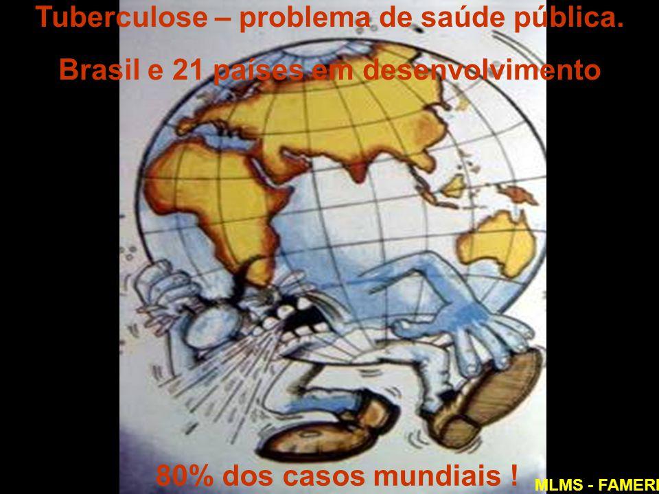 Tuberculose – problema de saúde pública.