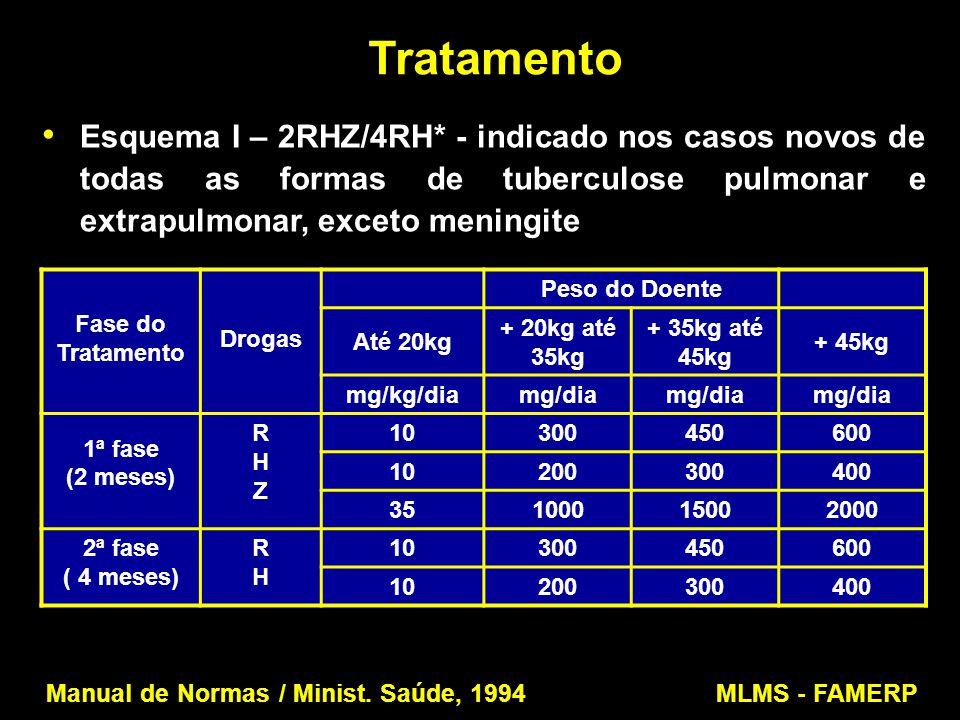 Manual de Normas / Minist. Saúde, 1994 MLMS - FAMERP