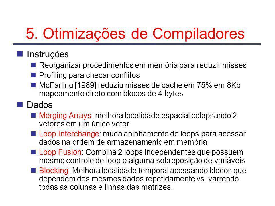 5. Otimizações de Compiladores
