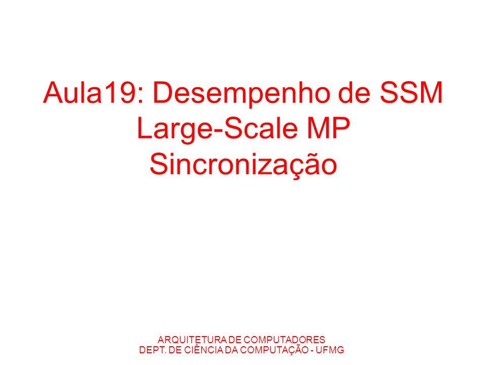 Aula19: Desempenho de SSM Large-Scale MP Sincronização