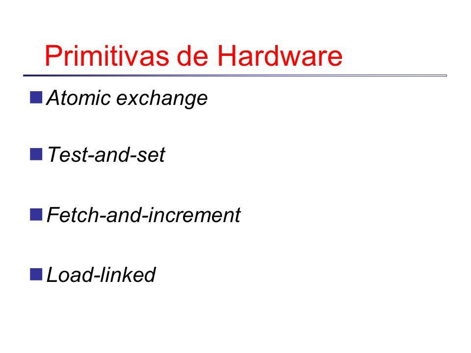 Primitivas de Hardware