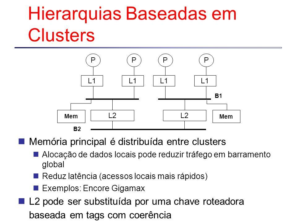 Hierarquias Baseadas em Clusters