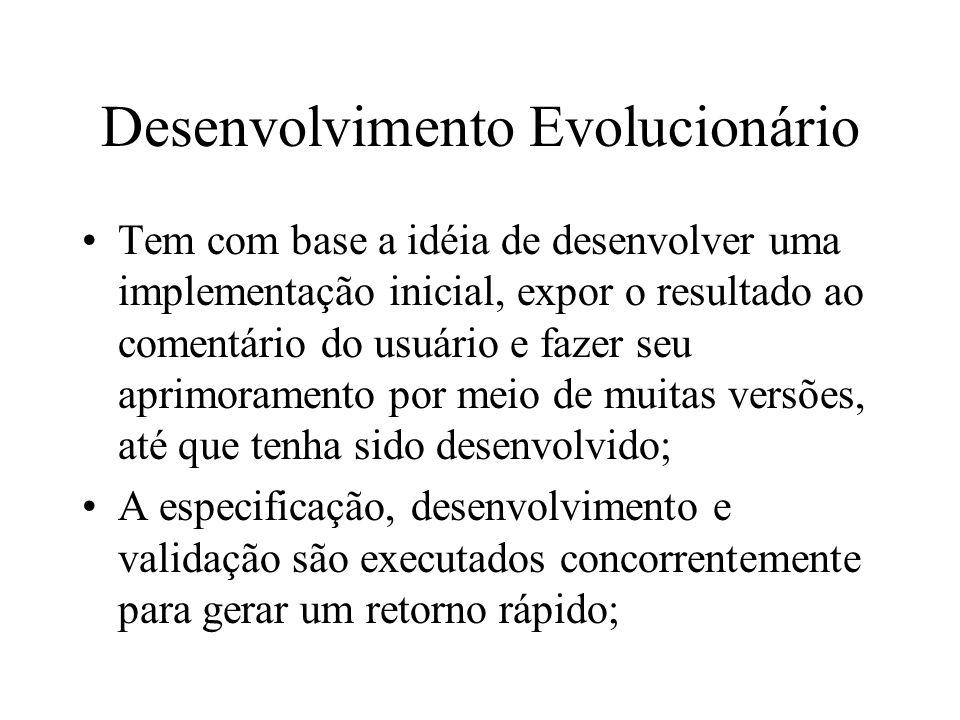 Desenvolvimento Evolucionário