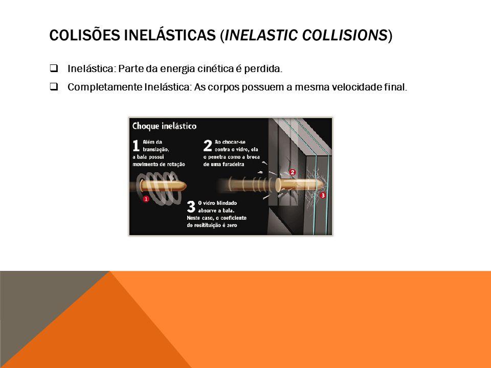 Colisões inelásticas (INELASTIC COLLISIONS)