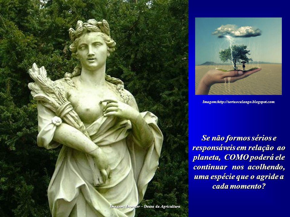Imagem: Demeter – Deusa da Agricultura