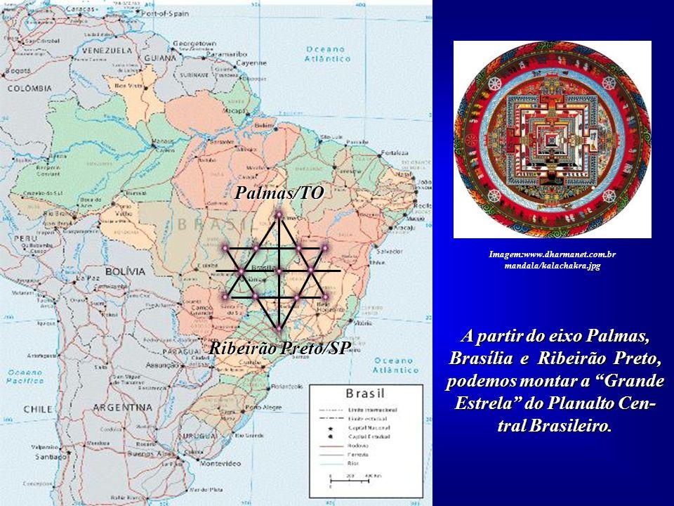A partir do eixo Palmas, Brasília e Ribeirão Preto,