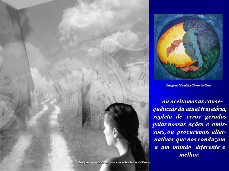 Imagem: Mandala Choro de Gaia