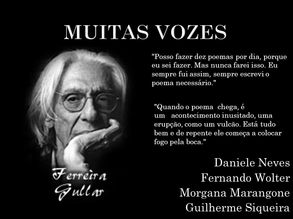 Daniele Neves Fernando Wolter Morgana Marangone Guilherme Siqueira