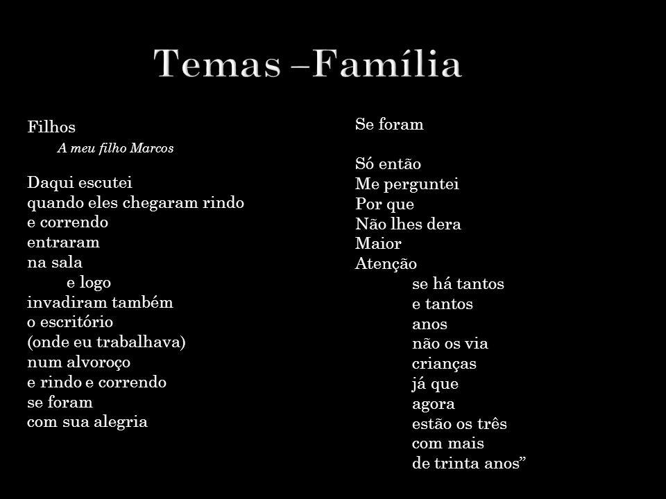 Temas –Família