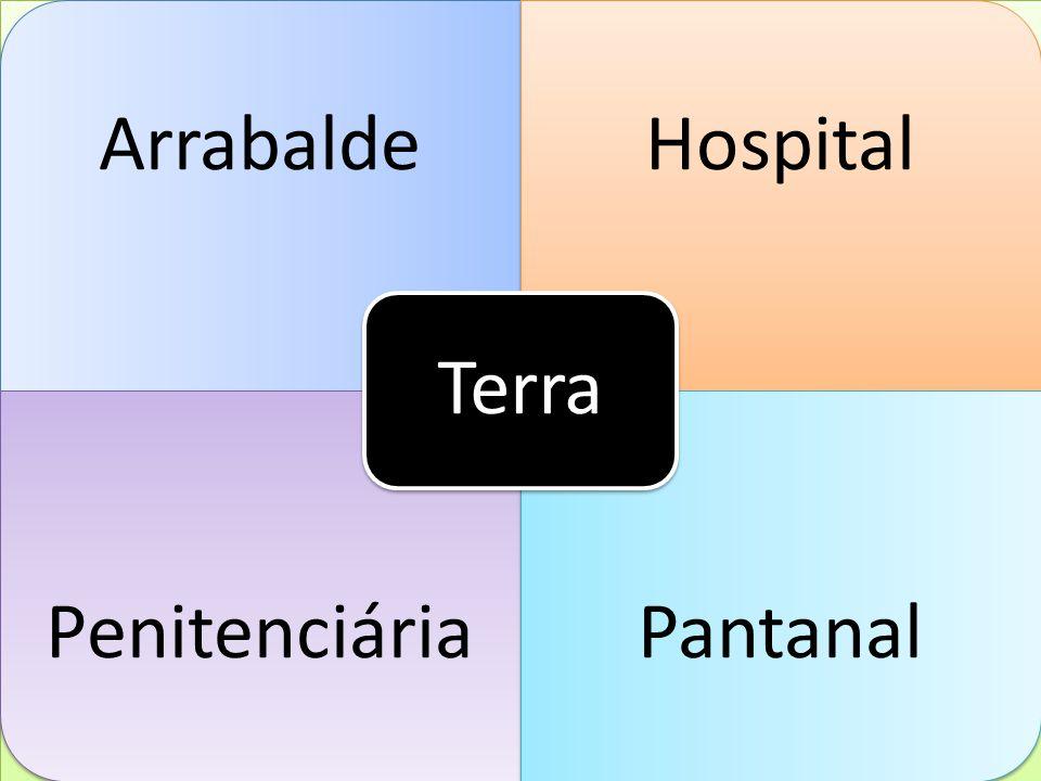 a Terra Arrabalde Hospital Penitenciária Pantanal