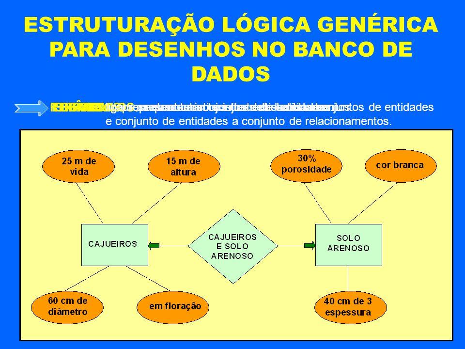 ESTRUTURAÇÃO LÓGICA GENÉRICA PARA DESENHOS NO BANCO DE DADOS