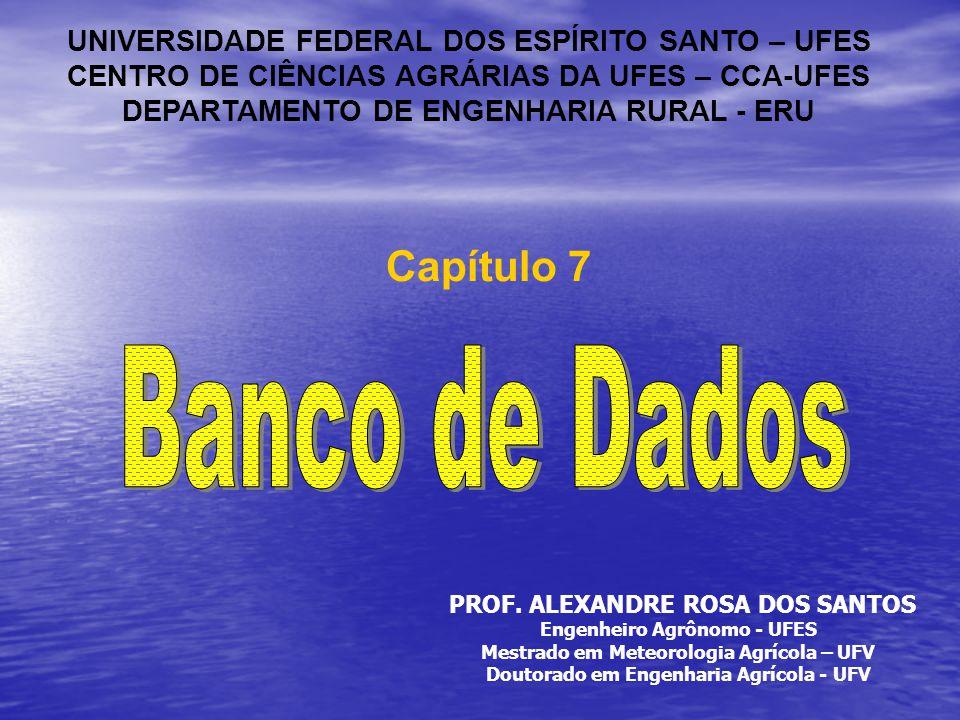Banco de Dados Capítulo 7