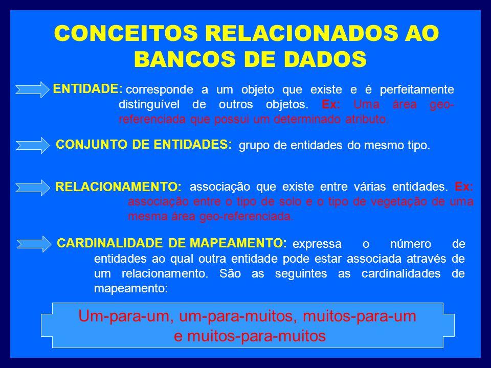 CONCEITOS RELACIONADOS AO BANCOS DE DADOS