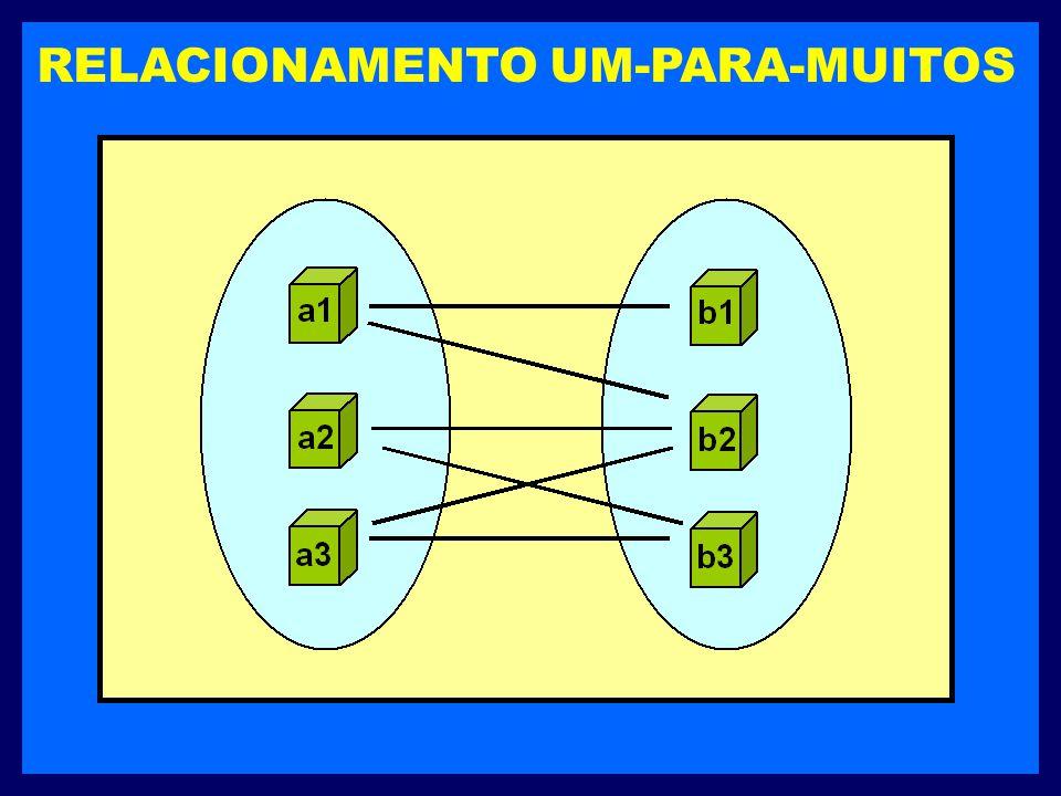 RELACIONAMENTO UM-PARA-MUITOS
