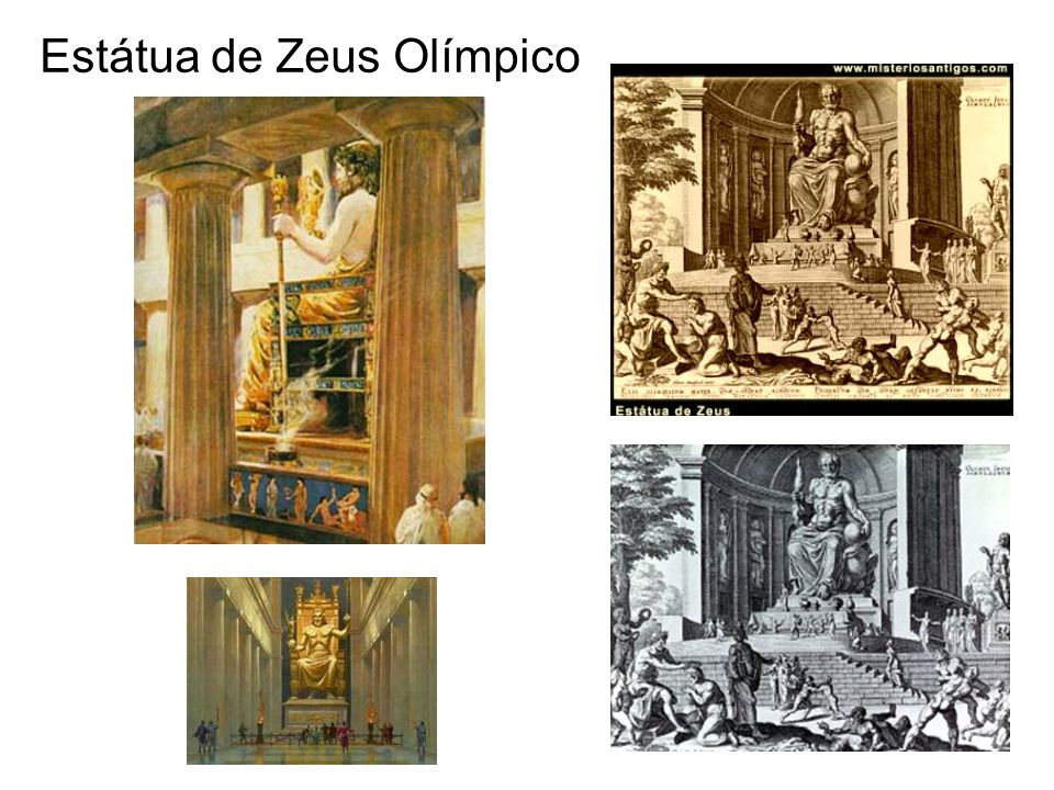Estátua de Zeus Olímpico