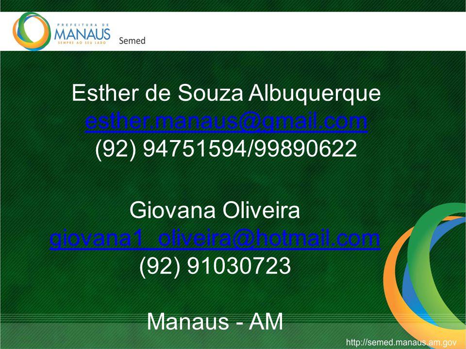 Giovana Oliveira giovana1_oliveira@hotmail.com