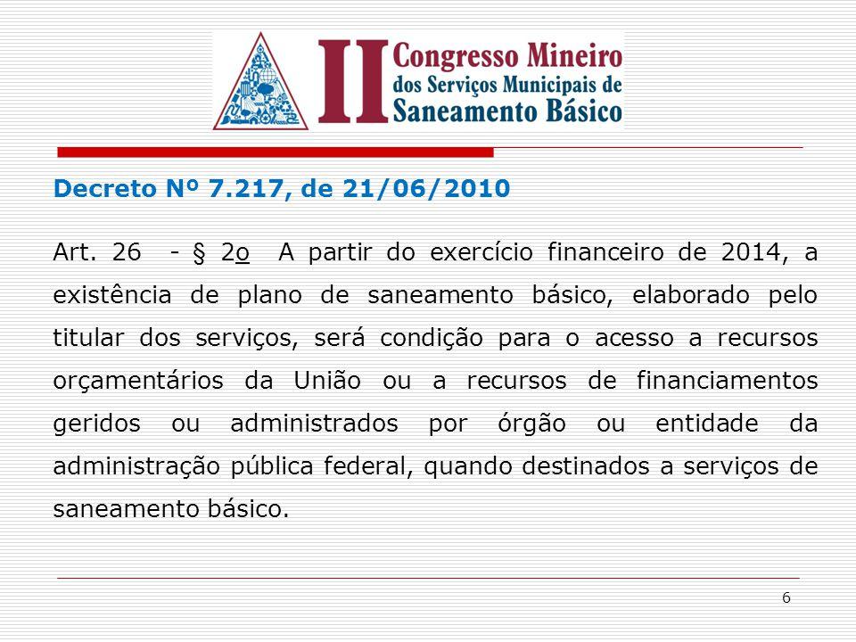 Decreto Nº 7.217, de 21/06/2010