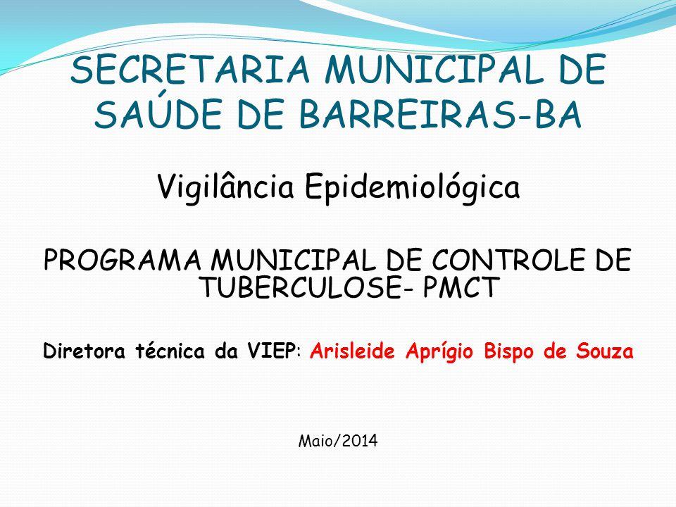 SECRETARIA MUNICIPAL DE SAÚDE DE BARREIRAS-BA