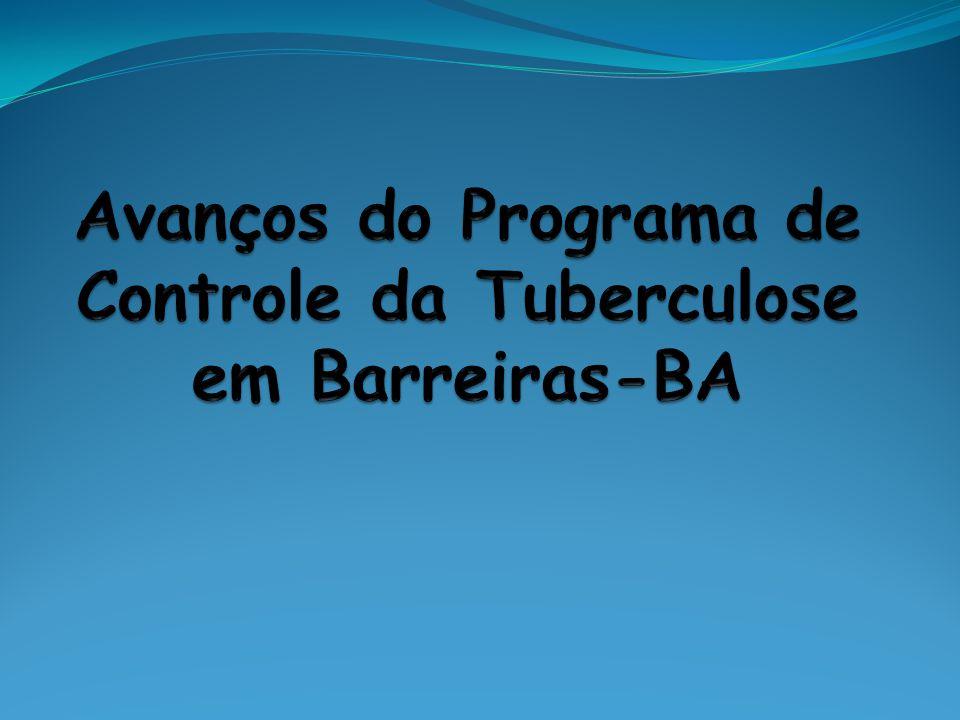 Avanços do Programa de Controle da Tuberculose em Barreiras-BA