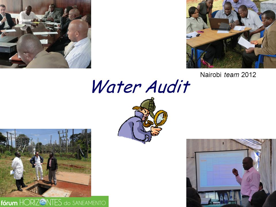 Water Audit Nairobi team 2012