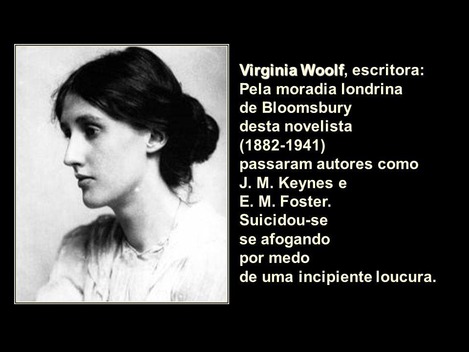 Virginia Woolf, escritora: Pela moradia londrina
