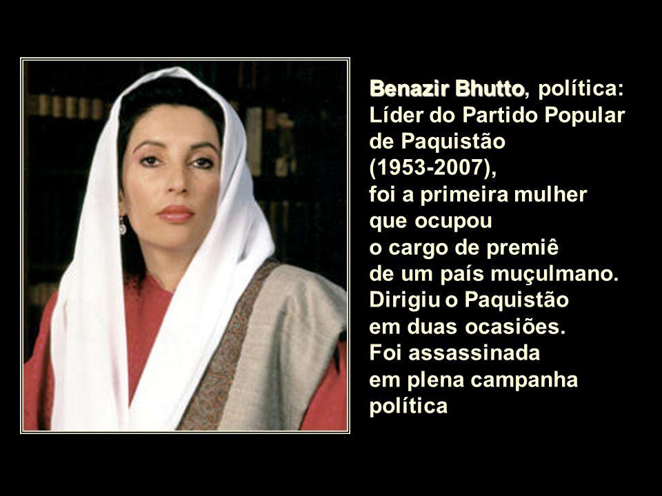 Benazir Bhutto, política: Líder do Partido Popular de Paquistão
