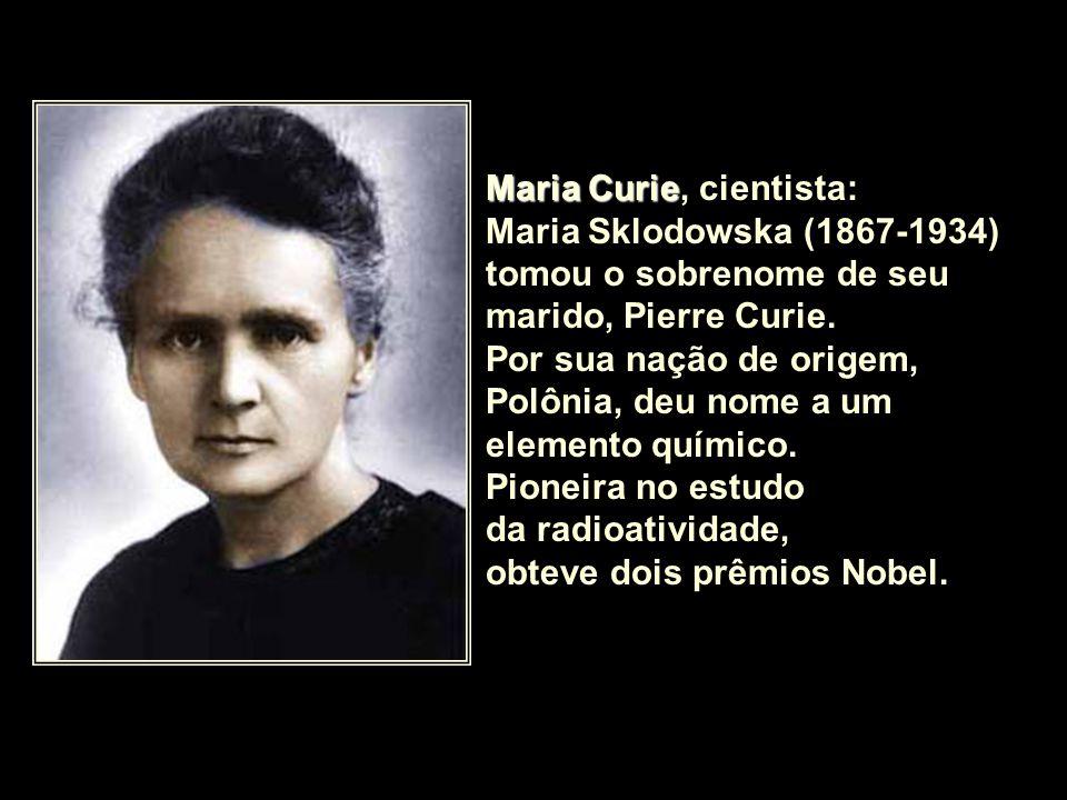 Maria Curie, cientista: