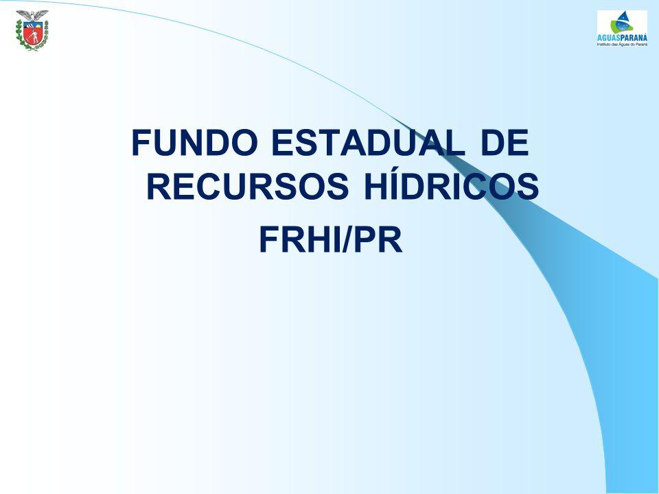 FUNDO ESTADUAL DE RECURSOS HÍDRICOS