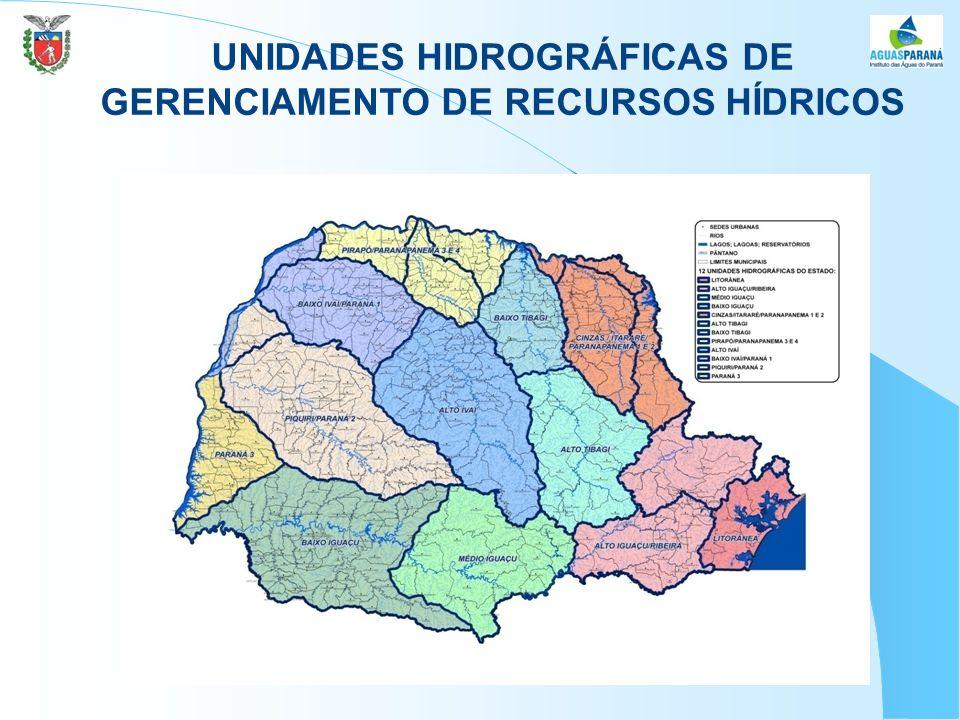 UNIDADES HIDROGRÁFICAS DE GERENCIAMENTO DE RECURSOS HÍDRICOS