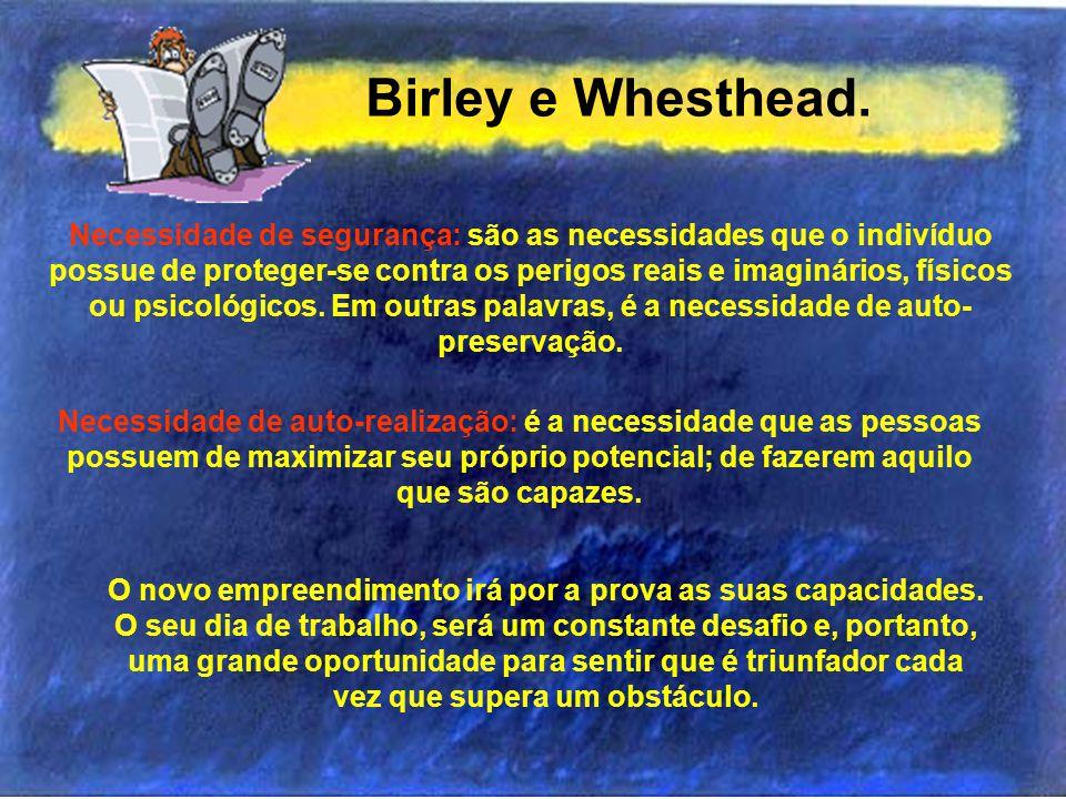 Birley e Whesthead.