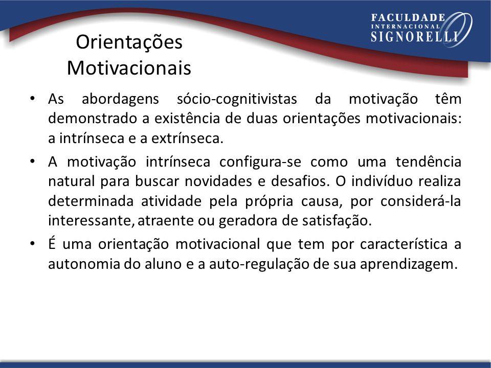 Orientações Motivacionais