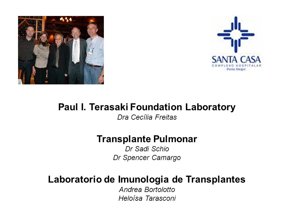 Paul I. Terasaki Foundation Laboratory