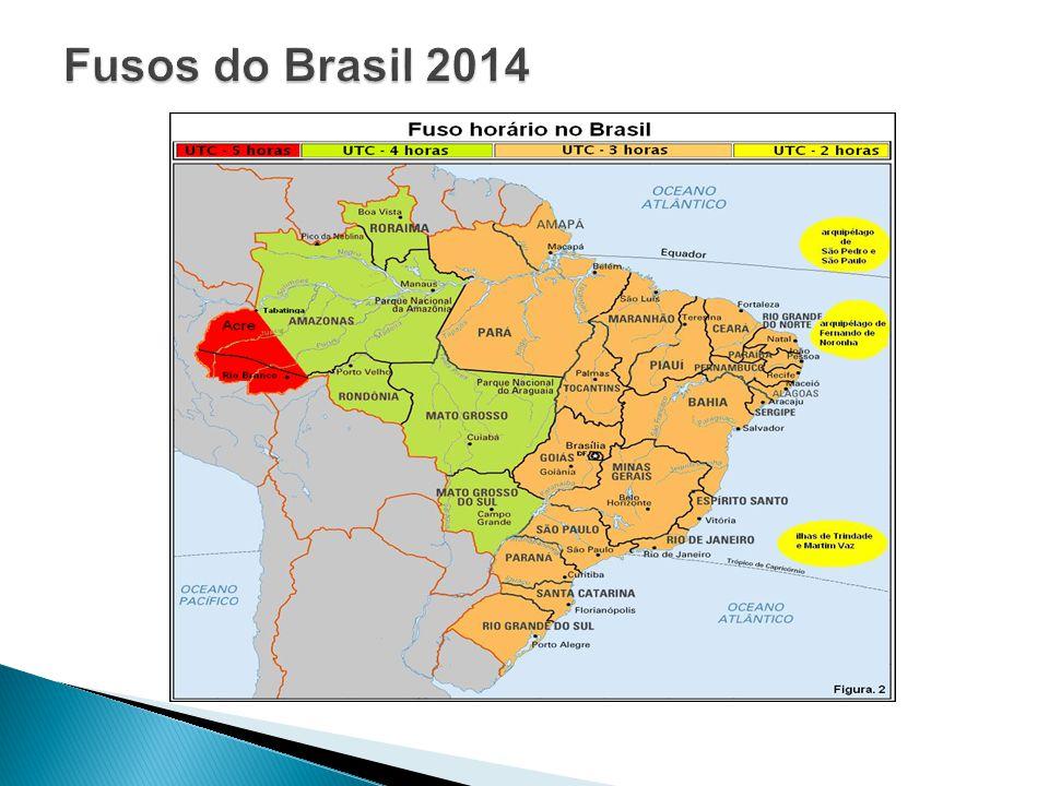 Fusos do Brasil 2014