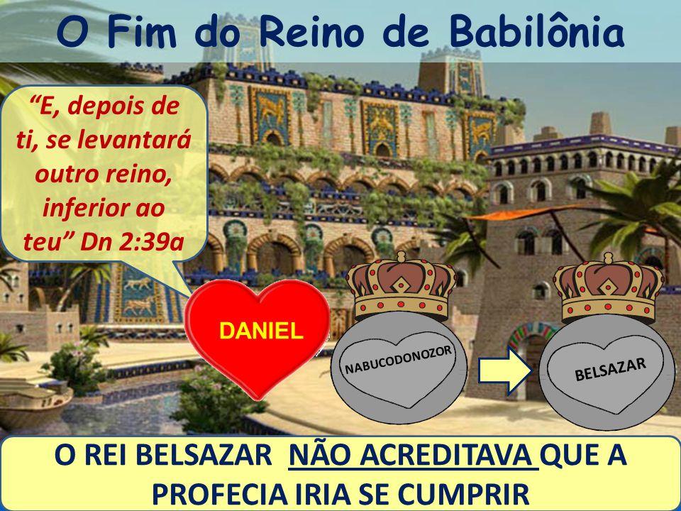 O Fim do Reino de Babilônia