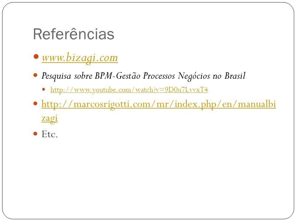 Referências www.bizagi.com