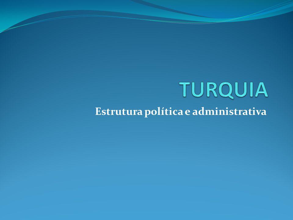 Estrutura política e administrativa