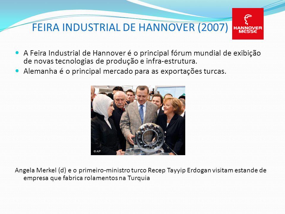 FEIRA INDUSTRIAL DE HANNOVER (2007)