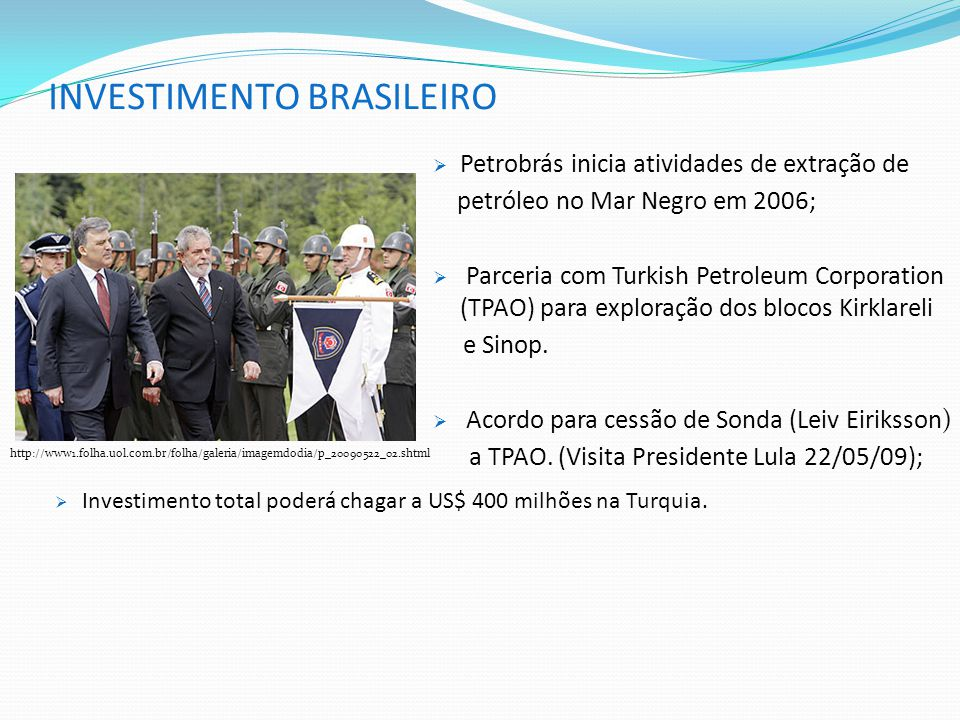 INVESTIMENTO BRASILEIRO
