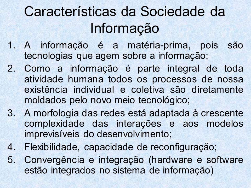 Características da Sociedade da Informação
