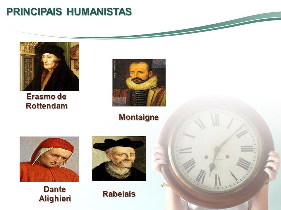 PRINCIPAIS HUMANISTAS