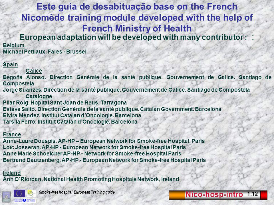 European adaptation will be developed with many contributor : :