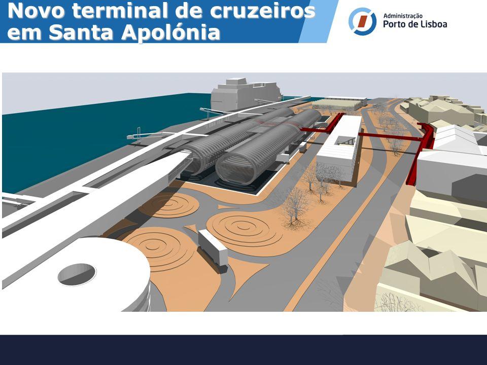 Novo terminal de cruzeiros em Santa Apolónia