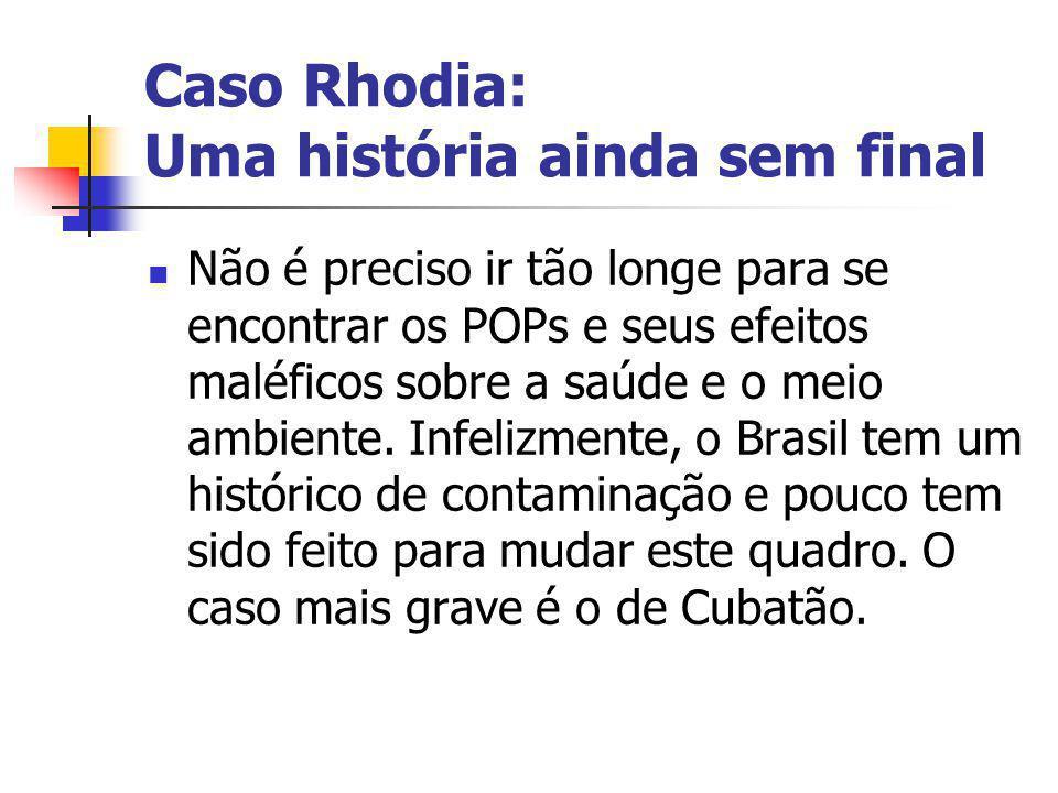 Caso Rhodia: Uma história ainda sem final
