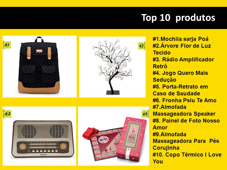 Top 10 produtos #1.Mochila sarja Poá #2.Árvore Flor de Luz Tecido