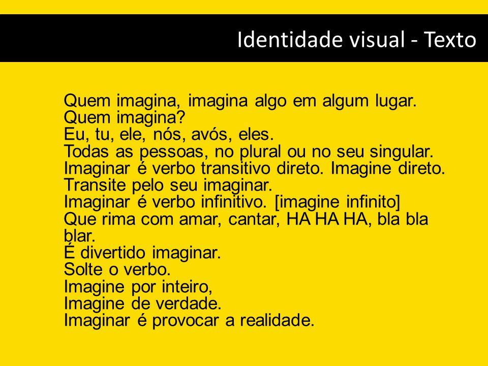 Identidade visual - Texto