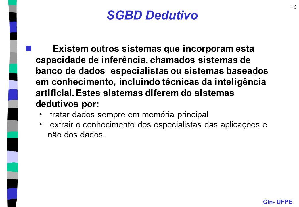 SGBD Dedutivo