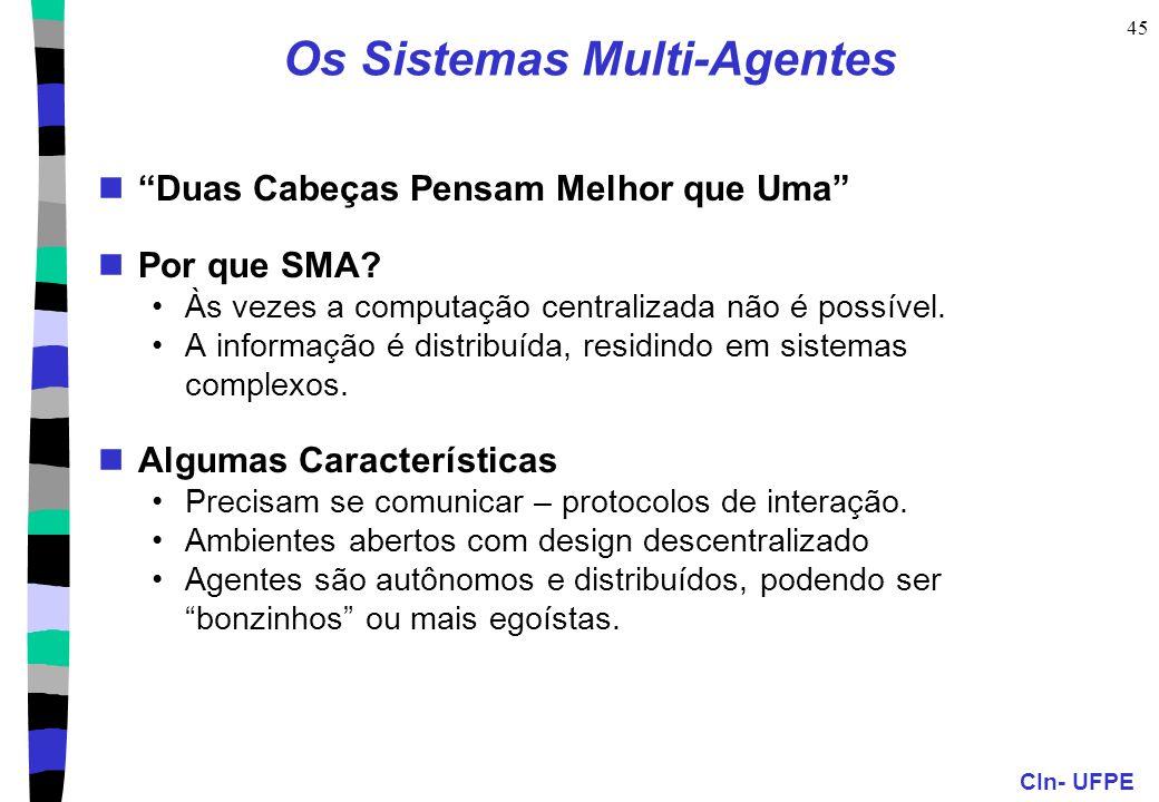 Os Sistemas Multi-Agentes